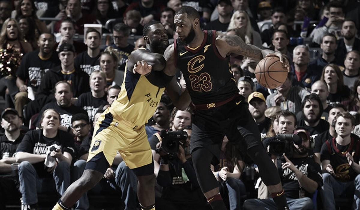 LeBron pierde el primer partido de 'playoffs' por primera vez en su carrera