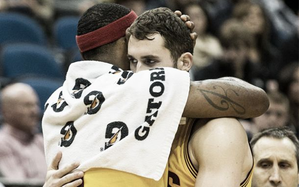 NBA, Cavaliers: Love ora fa contento LeBron
