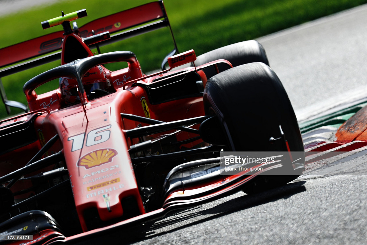 Leclerc holds off Mercedes to end Ferrari's Monza drought