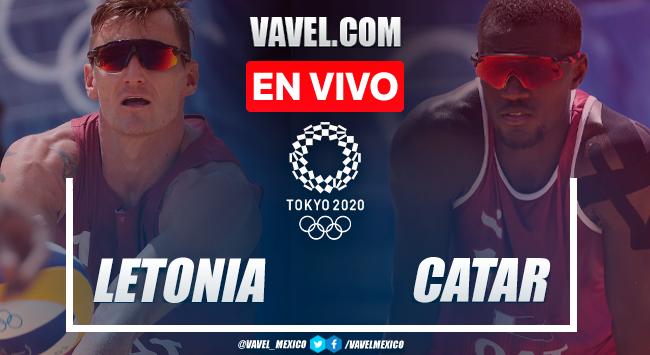 Resumen: Letonia 0-2 Catar en medalla de bronce del Voleibol de Playa Masculino por Juegos Olímpicos 2020