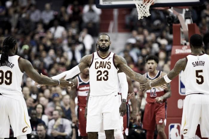 NBA: LeCavs arrancam mais uma vitória
