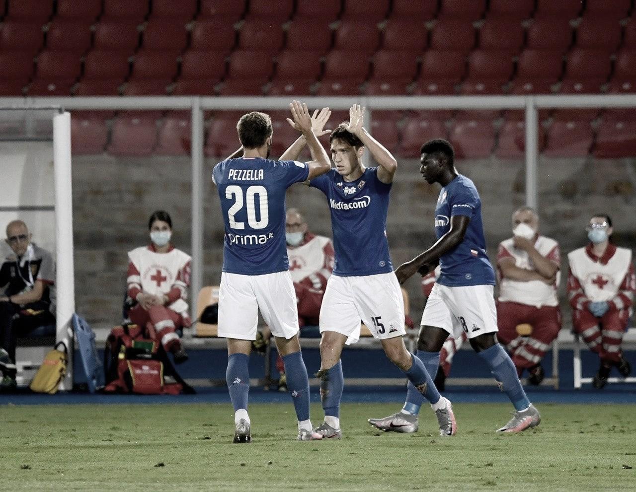 Fiorentina bate Lecce com autoridade e chega ao quarto jogo sem derrota na Serie A