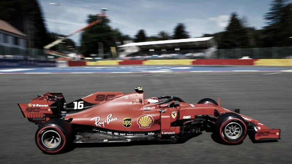 Ferrari confirma favoritismo na Bélgica com duas dobradinhas nos treinos livres de sexta