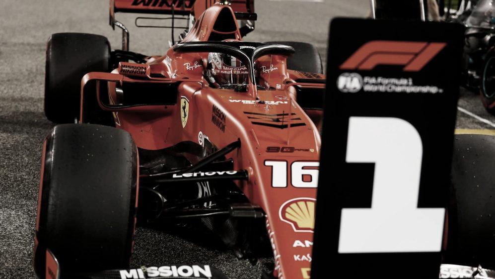 Leclerc larga em primeiro após recorde no Bahrein; Hamilton vê Ferrari mais rápida nas retas
