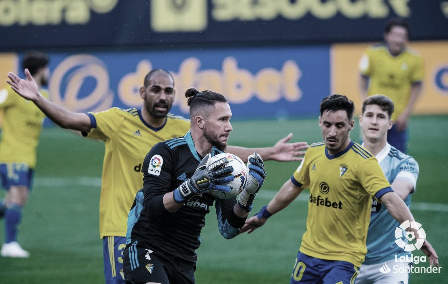 Cádiz 0-0 Celta de Vigo: a cabezazos contra el muro