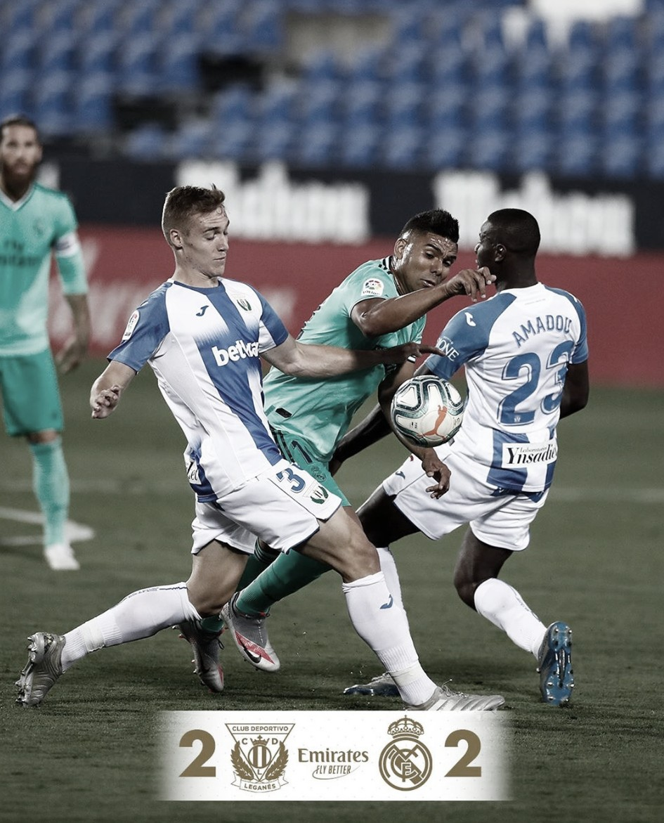 La contracrónica: empate con sabor a derrota para el Leganés