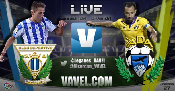 Leganés - Alcorcón en directo online (1-2)