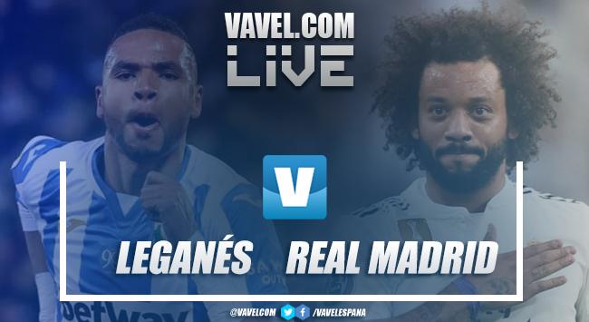 Resumen Leganés 1-1 Real Madrid en LaLiga Santader 2019