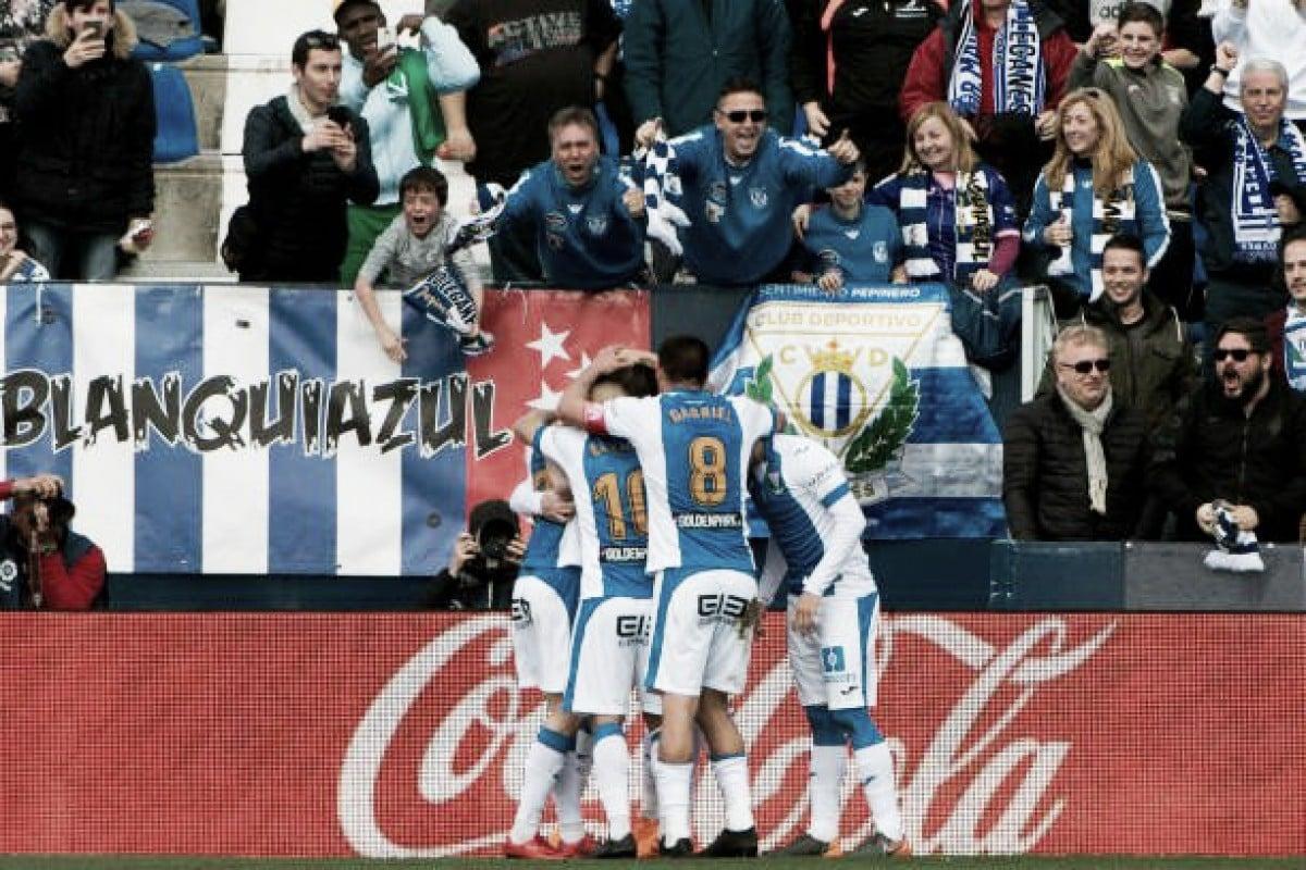 Leganés se impõe em casa e derrota Sevilla