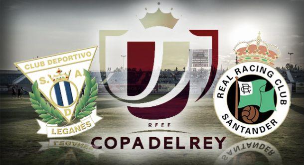 El CD Leganés se enfrentará al Racing de Santander en la tercera ronda de la Copa