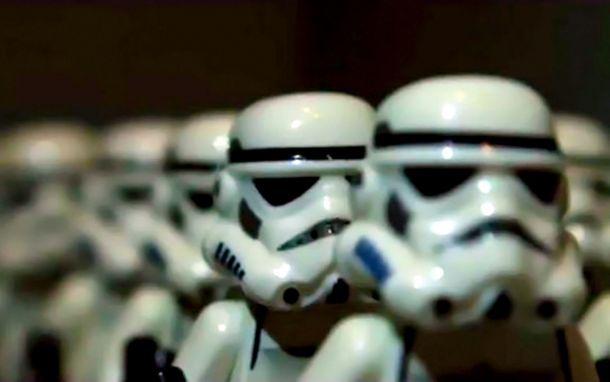 Quand les Lego reproduisent la bande-annonce de Star Wars