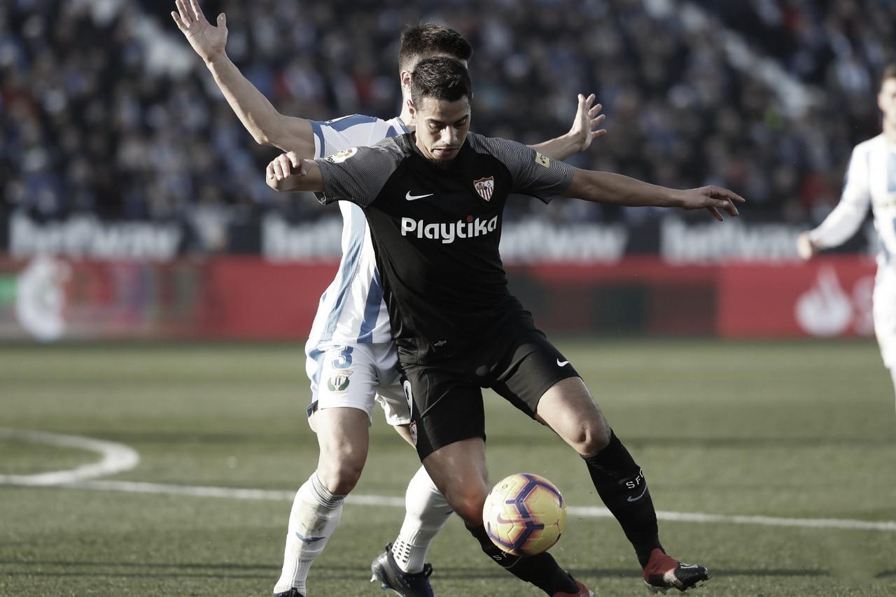 Resumen Sevilla FC vs CD Leganés 0-3 en la Liga 2019