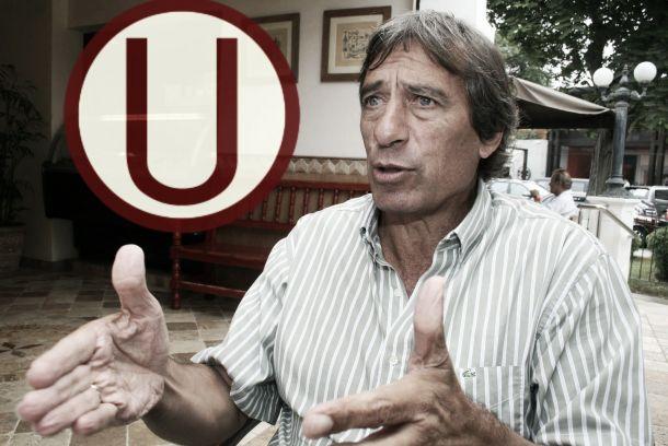 """Germán Leguía: """"Los chicos están contentos con Roberto Challe"""""""