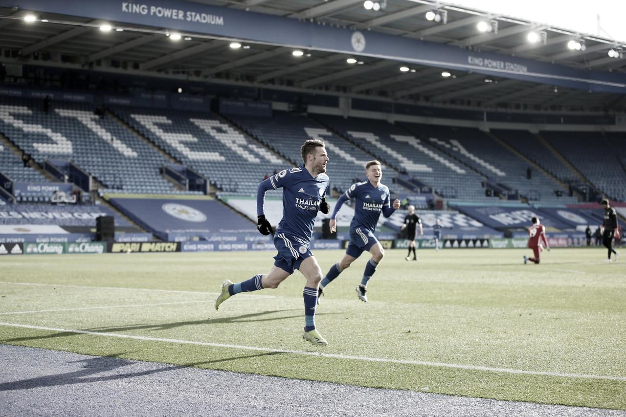 Leicester aproveita falhas defensivas do Liverpool para arrancar vitória de virada