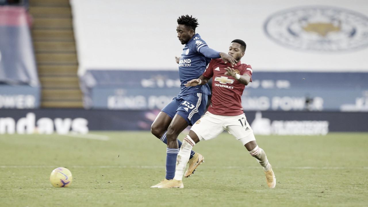 Com falhas defensivas, Manchester United cede empate ao Leicester fora de casa