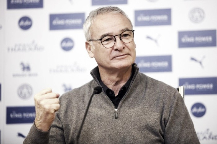 Claudio Ranieri finally admits that Leicester are fighting for the title