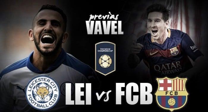 Leicester City - FC Barcelona: duelo de campeones