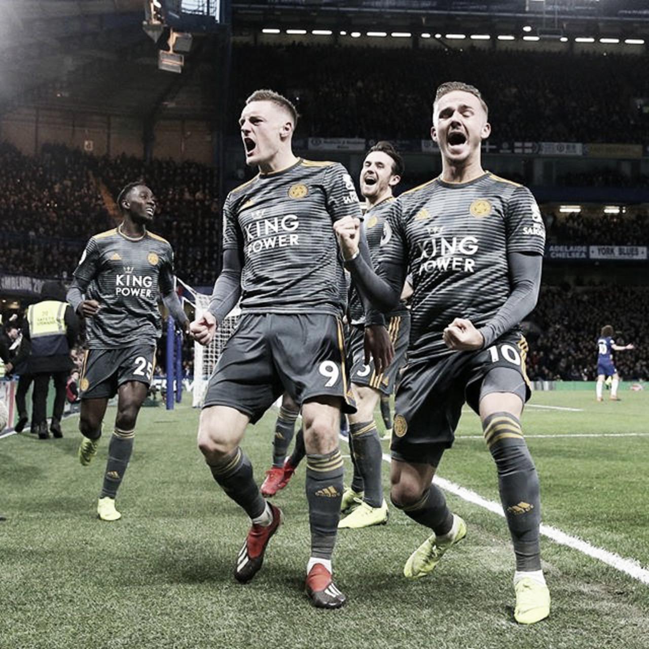 Leicester surpreende e derrota o Chelsea em Stamford Bridge