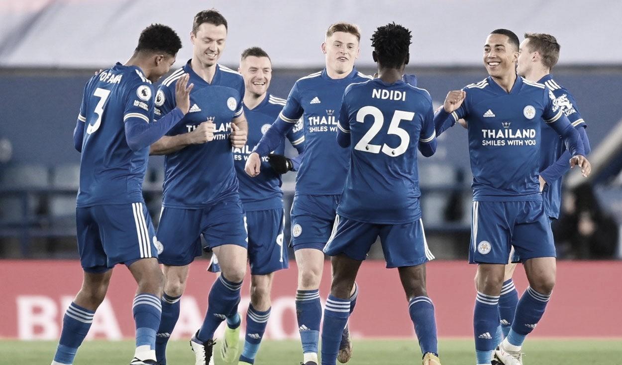 Actualmente, el Leicester es escolta del Manchester United. Foto: Leicester City