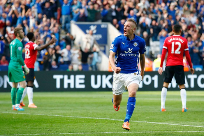Manchester United - Leicester City in Premier League 2015/16 (1-1): a Martial risponde Morgan