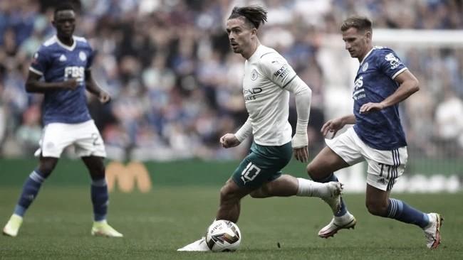 Gol e Melhores Momentos de Leicester x Manchester City (0-1)