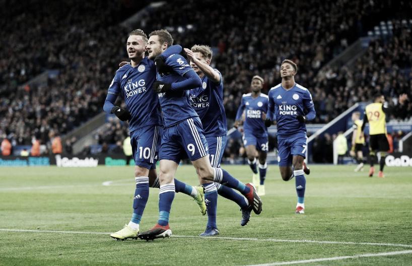 Sólida victoria del Leicester ante Watford