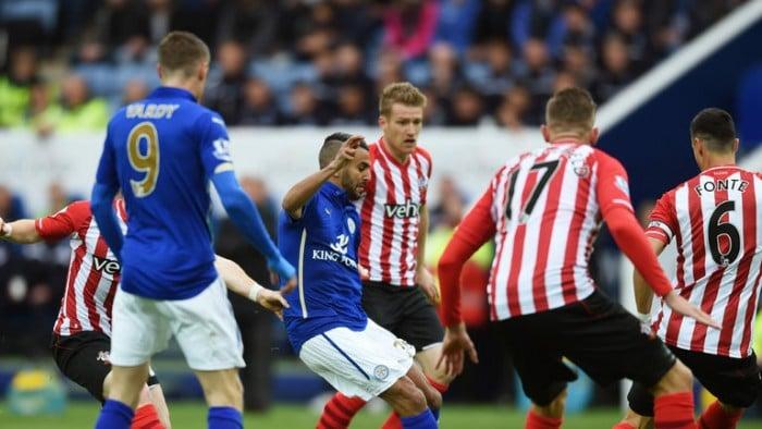 Leicester - Southampton, vincono le difese