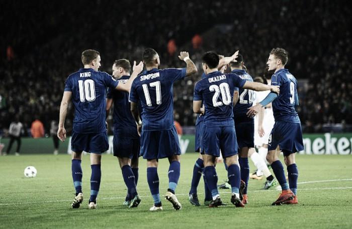 Leicester segue surpreendendo, bate Brugge em casa e avança às oitavas da UCL