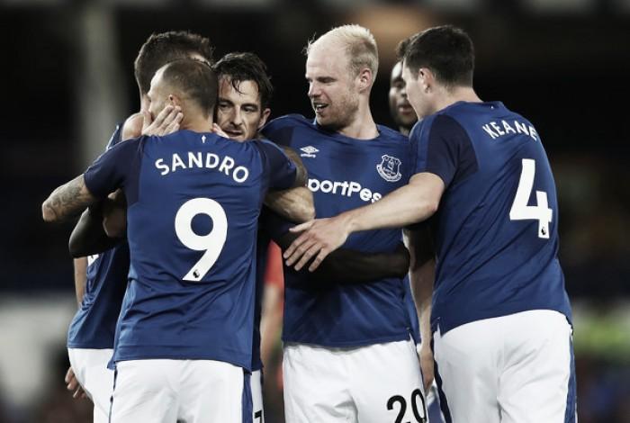 Everton dio el primer paso en su sueño europeo