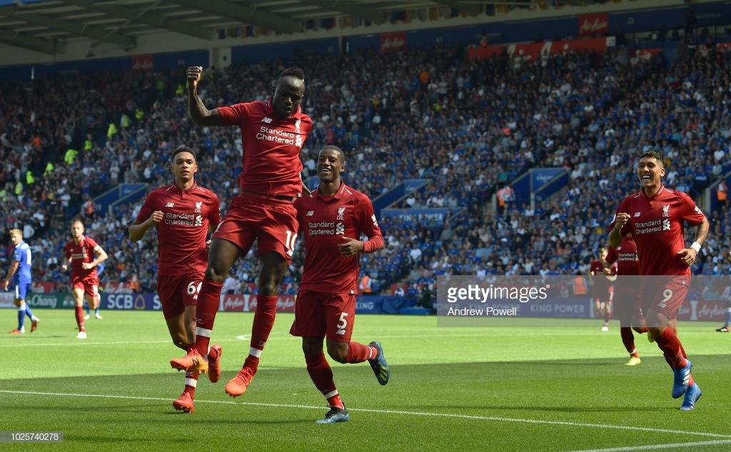 Leicester City 1-2 Liverpool: Klopp's men maintain winning start despite sluggish performance