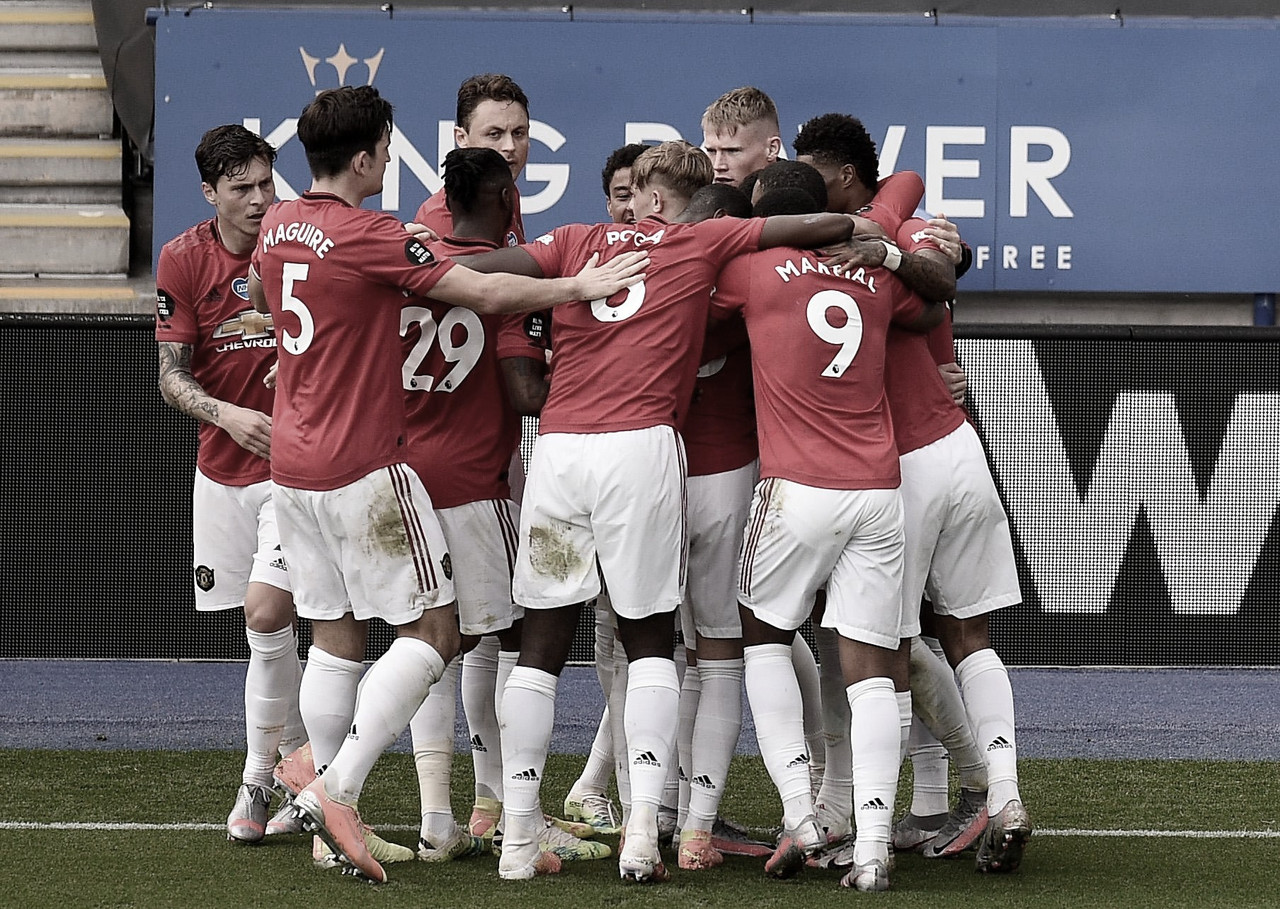 Manchester United derrota Leicester City e garante vaga na Champions League