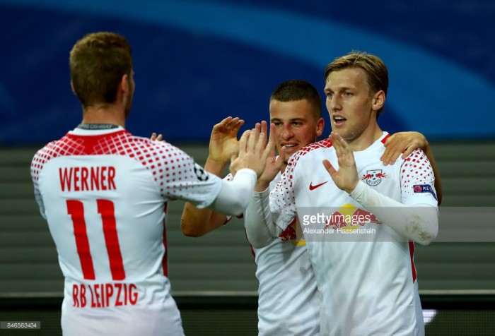 RB Leipzig 1-1 AS Monaco: Die Roten Bullen held in Champions League debut
