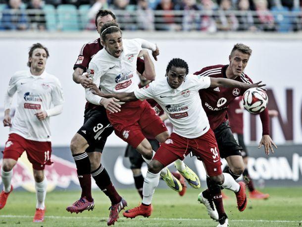 RB Leipzig 2-1 1. FC Nürnberg: Comeback win keeps up hosts' feint promotion hopes