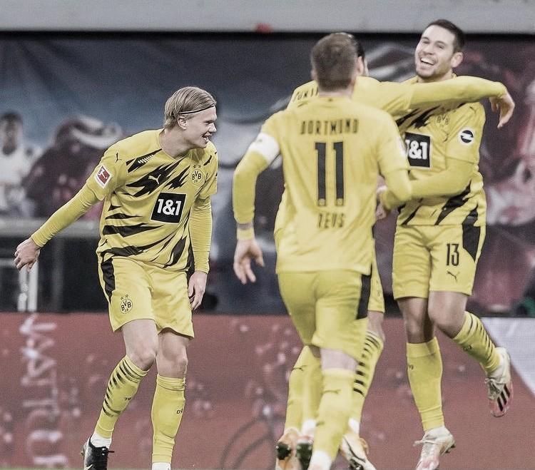 El Borussia supera al Leipzig que desaprovecha ser líder (1-3)