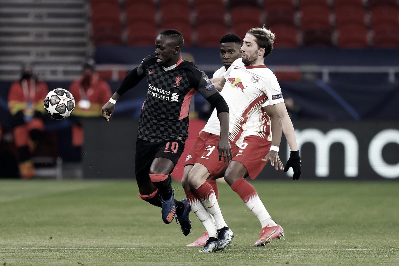 El Leipzig le permite al Liverpool sacar una ventaja importante