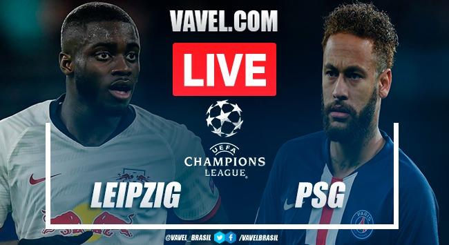 Resumen Red Bull Leipzig vs PSG por Champions League (0-3)