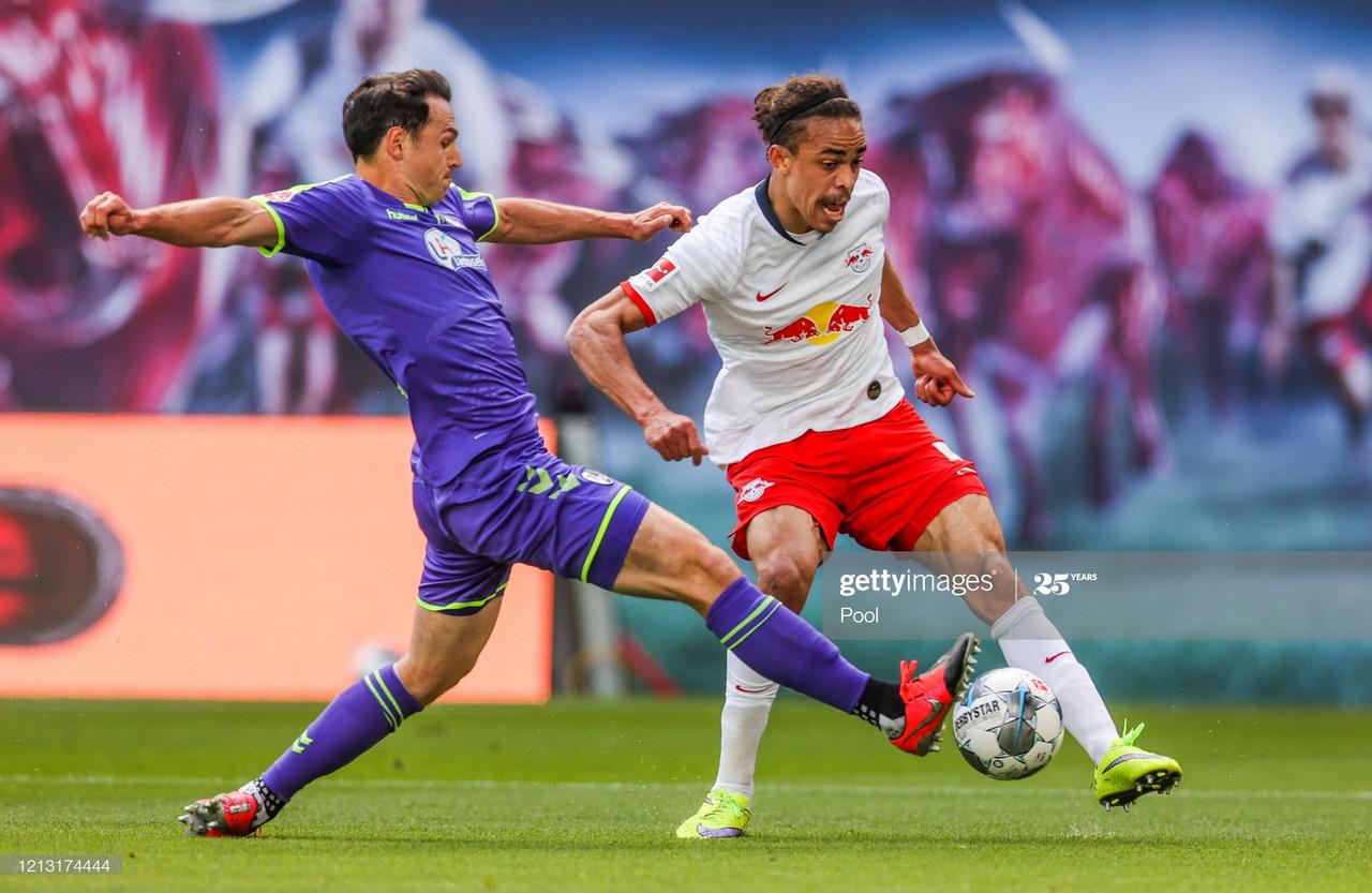 RB Leipzig 1-1 SC Freiburg: Leipzig held in score draw