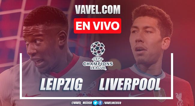 Goles y resumen del RB Leipzig 0-2 Liverpool en UEFA Champions League 2021