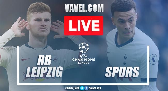 Gols e melhores momentos RB Leipzig 3x0 Tottenham pela Champions League 2019-20