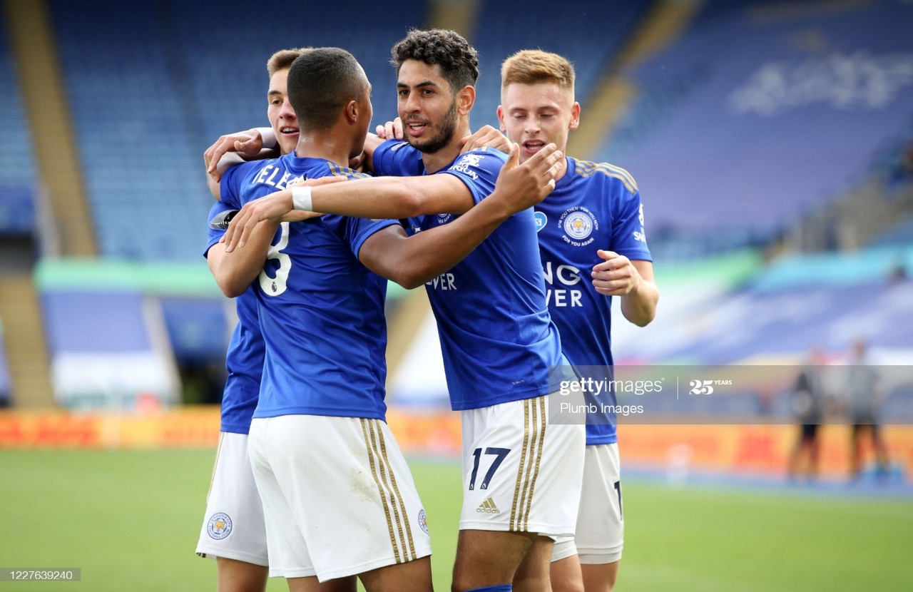 Leicester City 2-0 Sheffield United: Foxes book European football with comfortable victory