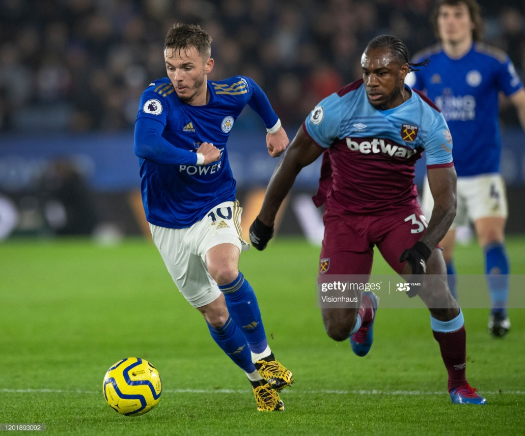 Leicester and West Ham United have both had promising starts to the season | Photo: Getty/ Visionhaus