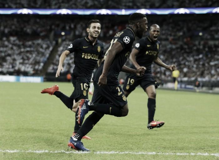Tottenham Hotspur 1-2 AS Monaco: Clinical visitors ensure hosts are beaten on Champions League return at Wembley