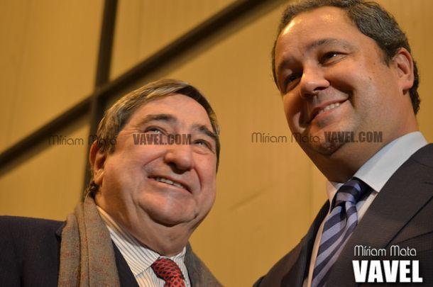 Lendoiro, las elecciones y Tino Fernández , en fotos
