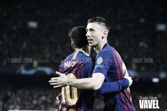 """Clément Lenglet: """"Mi primer gol en el Camp Nou es especial"""""""