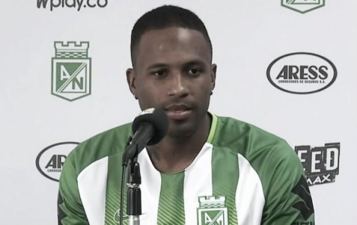 """Reinaldo Lenis: """"Si no era en Atlético Nacional, no venía a Colombia"""""""