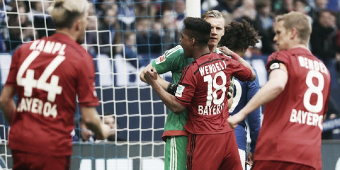 Schalke 04 2-3 Bayer Leverkusen: Rosy Reds stun Schalke to pick up huge three points