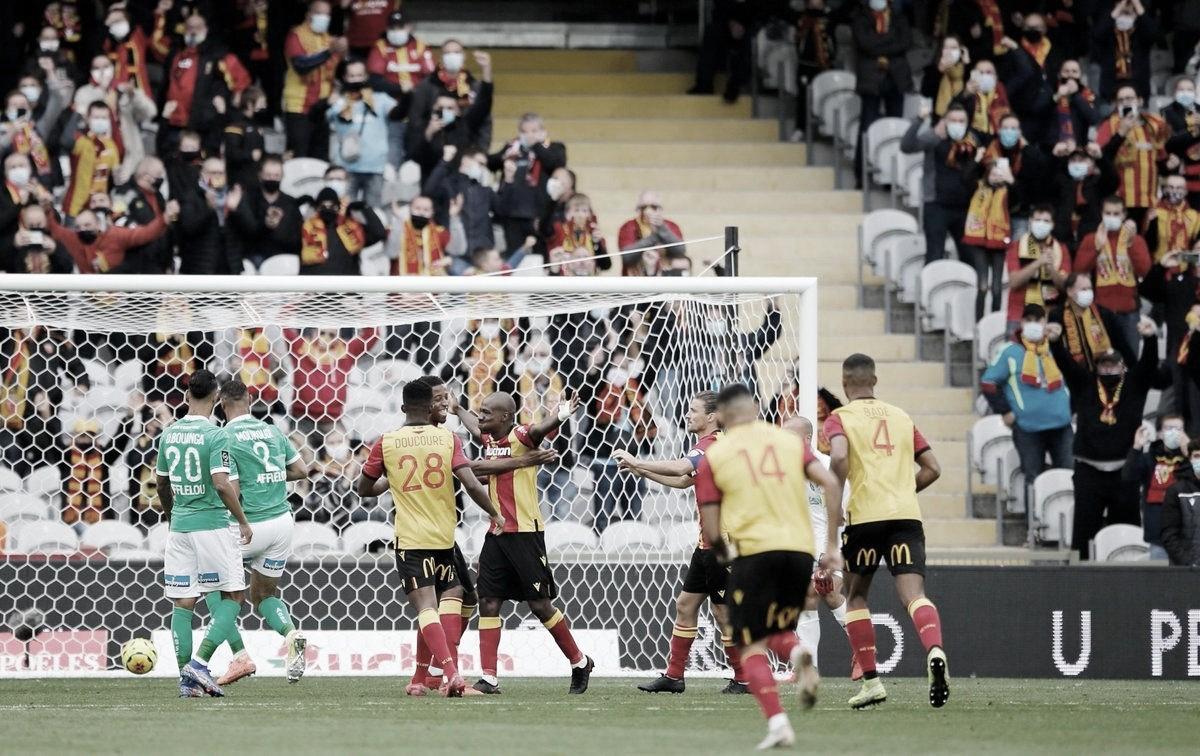 Lens venceu o Saint-Étienne por 2 a 0 na Ligue 1 2020-21 | Foto: Divulgação/Ligue 1
