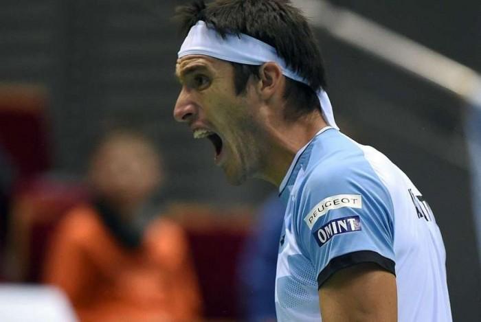 Argentina, a cuartos de la Davis