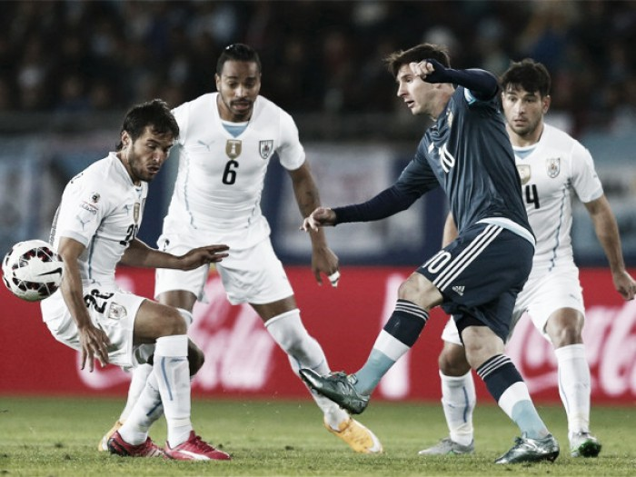 Messi no ha sido descartado para jugar contra Uruguay