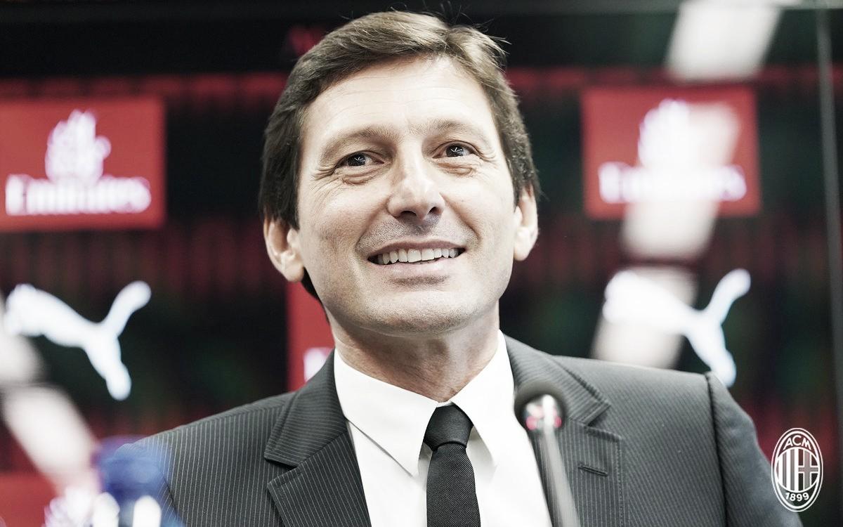 """Novo dirigente do Milan, Leonardo revela possível saída de Bonucci: """"Partiu da vontade do jogador"""""""